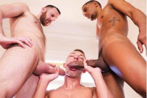 Porno sexo gay com Tim, Caio e o arrombado do Bogdan